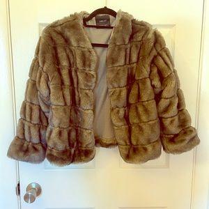 Zara Fur Jacket Size S